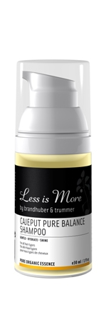 LESS IS MORE CAJEPUT PURE BALANCE SHAMPOO 30ml