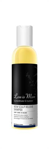 LESS IS MORE NEEM SCALP RELIEVE SHAMPOO 200ml